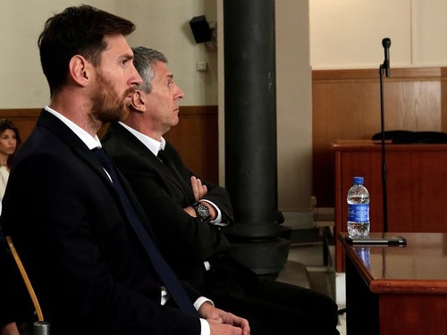 Lionel Messi found guilty in tax fraud case; sentenced 21 months jail term by Spanish court