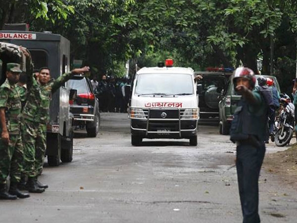 Bomb explodes near Eid mass prayer gathering in Bangladesh; 2 cops killed, several injured