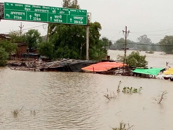 Heavy rainfall cause flash floods in Madhya Pradesh; schools declare two-day holiday