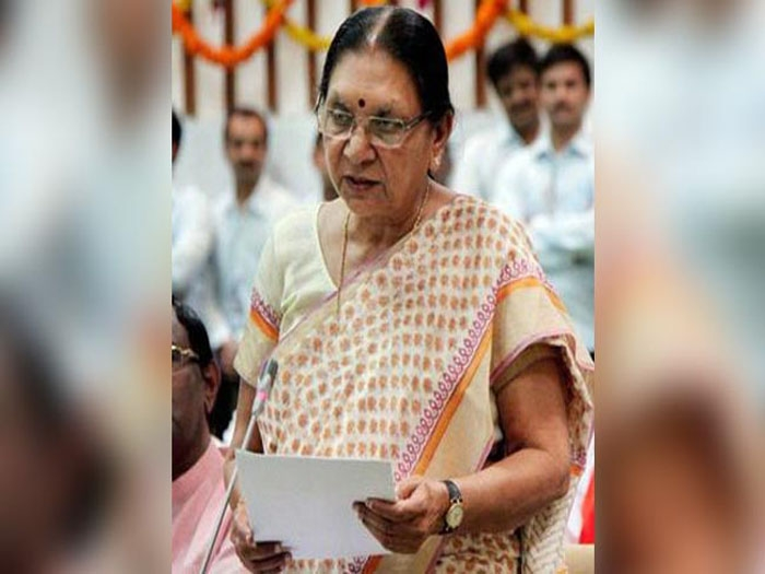 In a dramatic move, Gujarat CM Anandiben Patel puts in papers