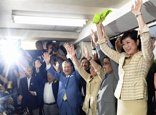 Yuriko Koike becomes first female governor of Tokyo; promises brand new policies for women