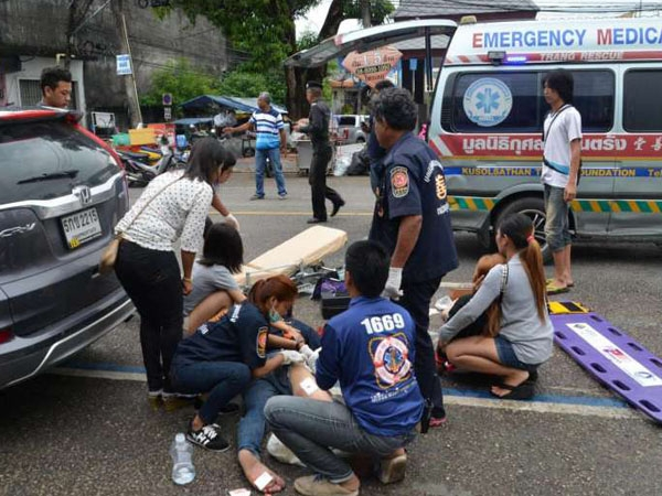 Thailand twin blast- series  kills 4 people and leaves several injured