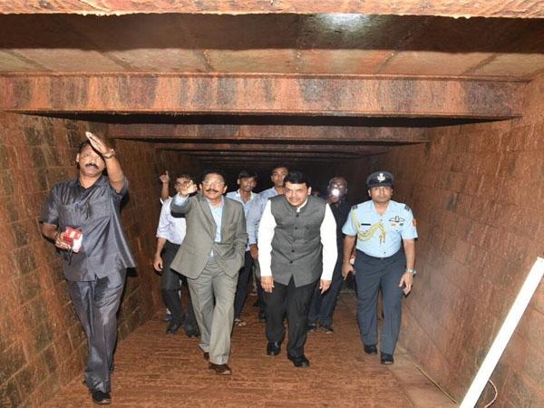 Maharashtra Governor discovers 13 room-British era bunker at Raj Bhavan Complex