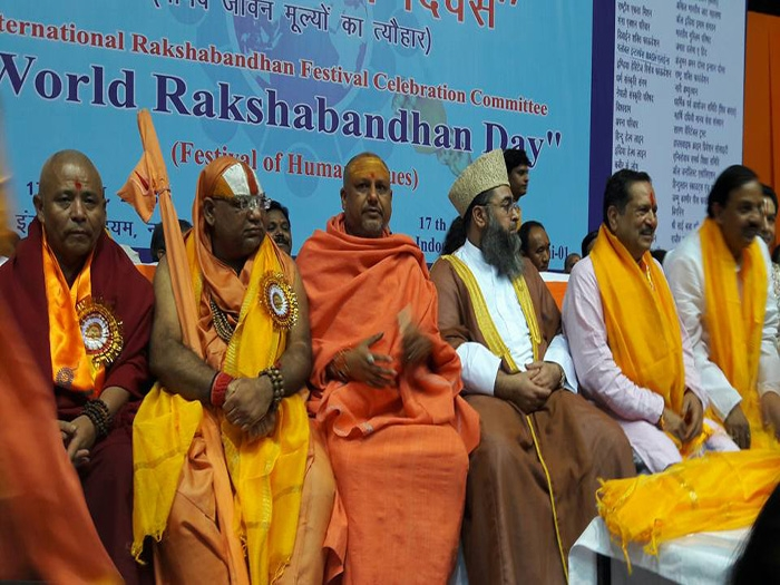 Rakshabandahn is festival of humanity, says Indresh Kumar