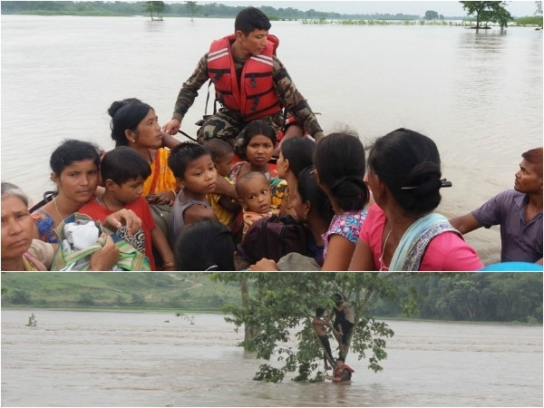 Nepal hit by floods and landslides due to incessant rain; about 102 killed and 277 houses displaced