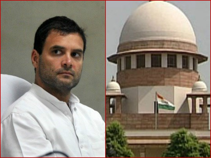 Rahul says he didn't accuse RSS of Mahatma's murder, SC agrees