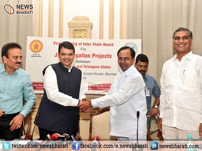 महाराष्ट्र-तेलंगाना ने कायम की मिसाल; गोदावरी जल विवाद सुलझाकर किए तीन समझौते