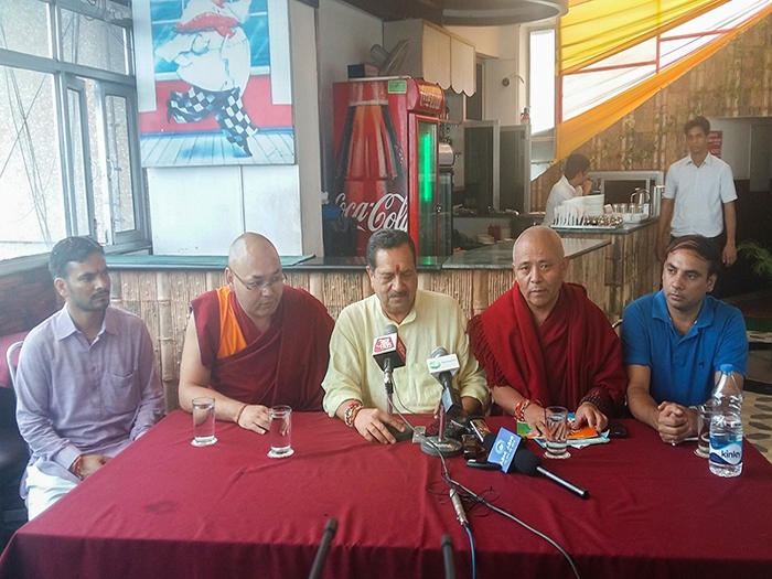 Indresh asserts Tibet's historicity over independence