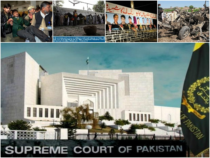 Pakistan's SC rejects 16 appeals of terror convicts set to hang