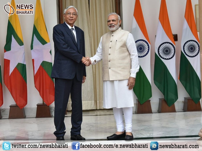 India & Myanmar collaborate in sectors of education, connectivity, infrastructure and healthcare
