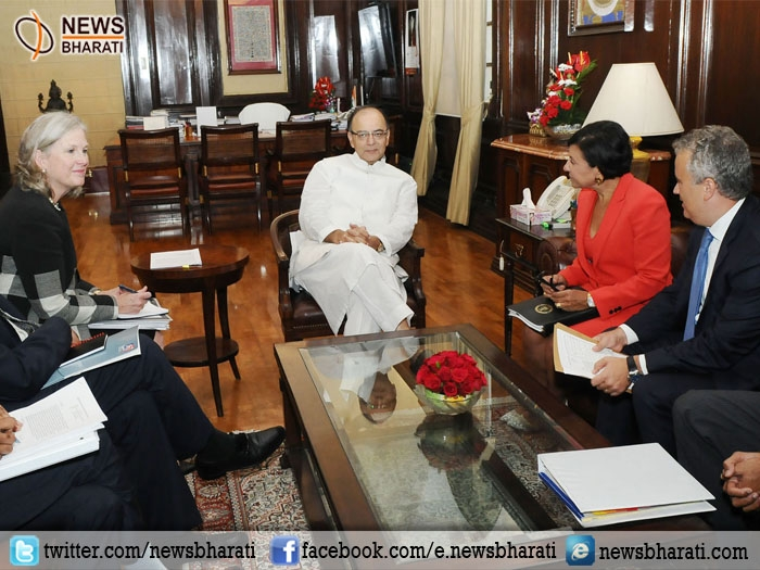 Arun Jaitley and US Secretary of Commerce discuss measures to increase bilateral trade