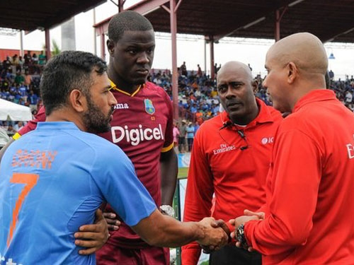 Rains washes India's hopes for victory in 2nd T-20; West Indies take away series with 1-0 win