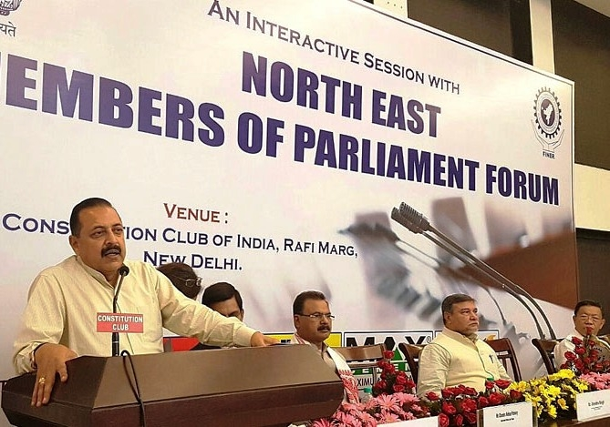 Connectivity constraints being overcome to promote enterpreneurship in Northeast: Jitendra