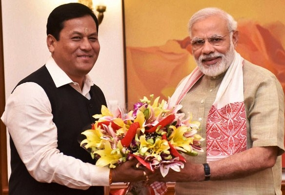 Assam CM Sonowal urges PM Modi to deal with deadly Assam floods as a national problem