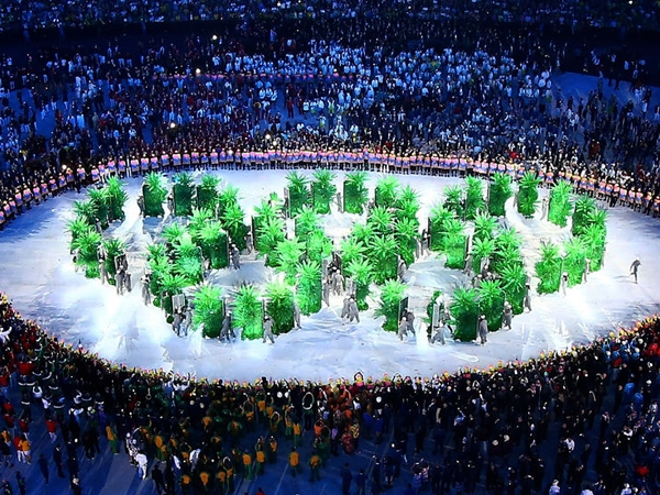 Rio 2016 begins with a stunning opening ceremony; dance forms, acoustic music enriches function