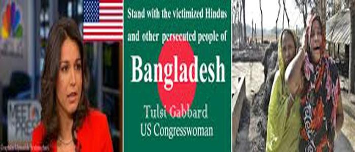 Tulsi Gabbard stands with Bangladesh Hindu victims