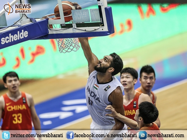 Indian basketball team jumps overhead China at FIBA Asia challenge to win by 70-64