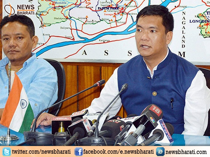 Major loss for Congress in Arunachal Pradesh as its 43 MLAs including CM Khandu join BJP ally PPA