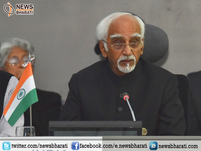 Libraries play central role in providing open access to information and ideas says Hamid Ansari