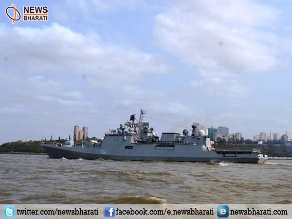 Indian naval ship Trikand leaves for 3-day Maputo visit; aims to strengthen India-Mozambique ties