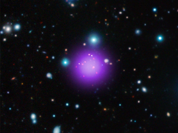 NASA discovers most distant galaxy cluster located at 11.1 billion light years away from Earth