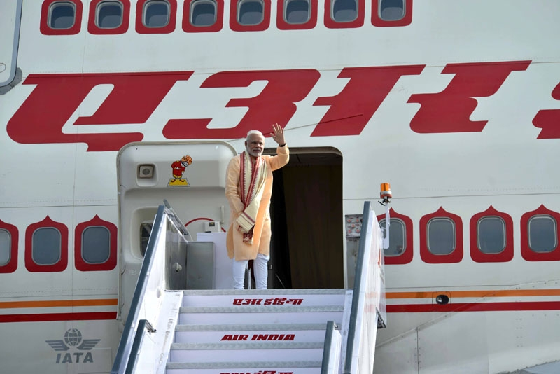 Prime Minister Narendra  Modi embarks on his  maiden Vietnam Visit