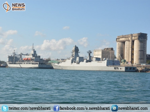 INS Kolkata, Trikand & Aditya arrive at Durban to muscle Maritime security in Indian Ocean region
