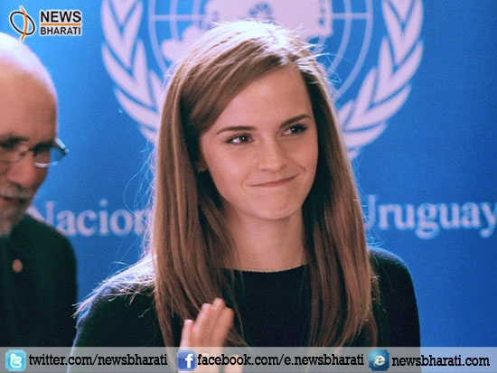 Goodwill ambassador Emma Watson discusses gender parity at 'HeForShe' event at UN