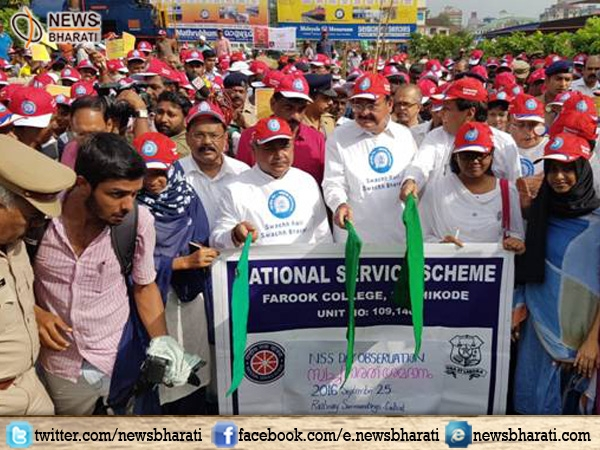 Top Union Ministers flag off Swachh Bharat Week at Kozhikode railway station