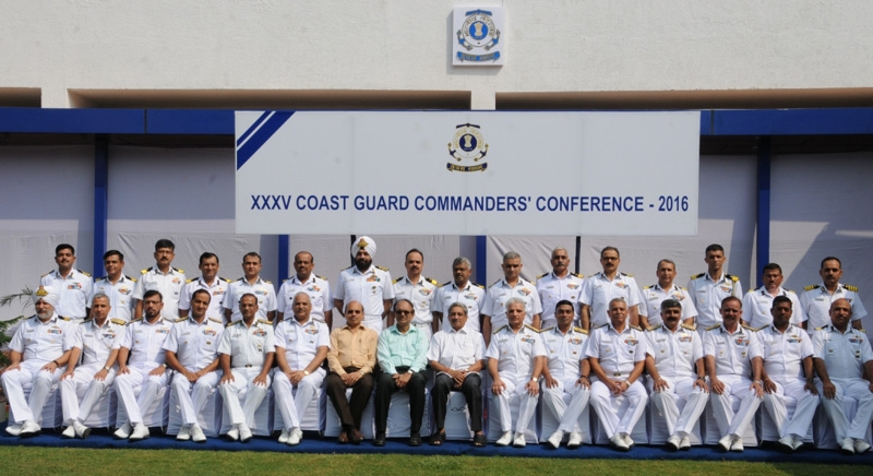Defence Minister Manohar Parrikar Inaugurates 35th Coast Guard Commanders' Conference