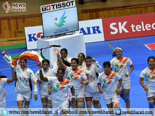 Indian women Kabbaddi team thrashes Thailand to win gold at 5th Asian Beach Games