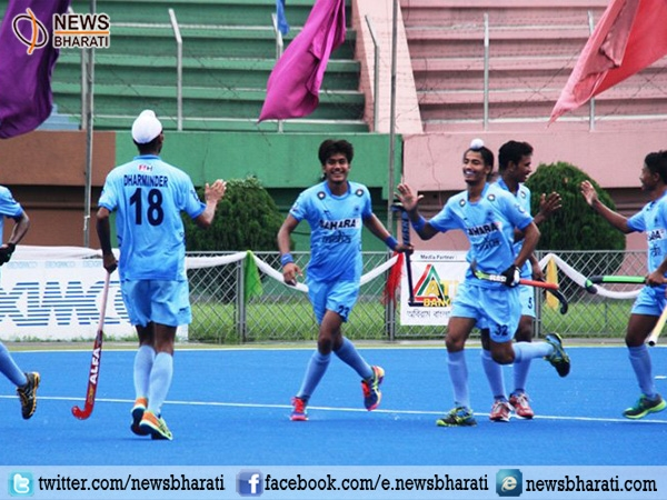 Indian team stamps 5-4 victory score against Bangladesh to achieve the 4th Asia Cup title
