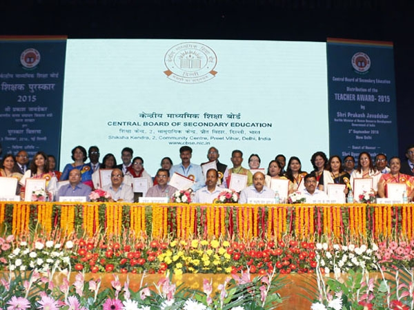 CBSE faculties get felicitated applauding their role in nation building