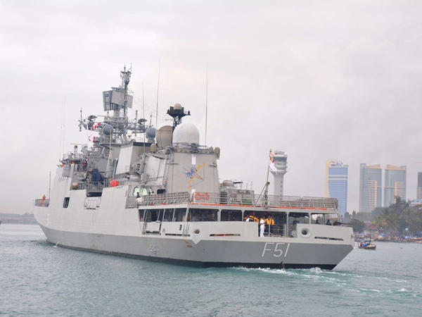 Indian warship 'Trikand' visits Tanzania in an attempt to strengthen  maritime cooperation