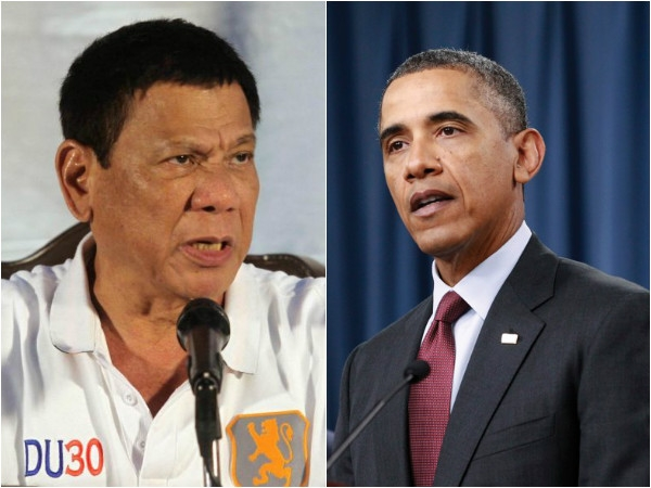Filipino President Duterte apologises Obama for abusive comments