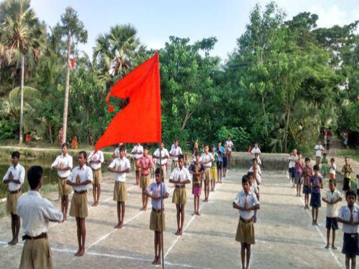 RSS, BJP challenge Kerala Govt to ban RSS shakha in temple premises