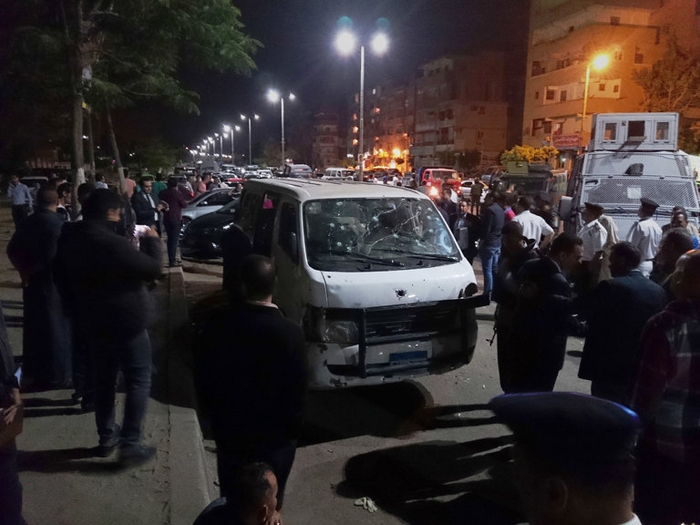 Eight Egyptian cops killed, ten injured in Ambush