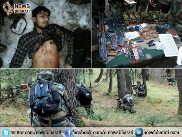 Security forces eliminates one terrorist in Kashmir's Bandipora district; arms recovered