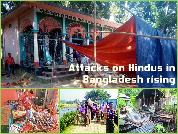 Attack on Hindus in Bangladesh rising; Bigger plot underway?