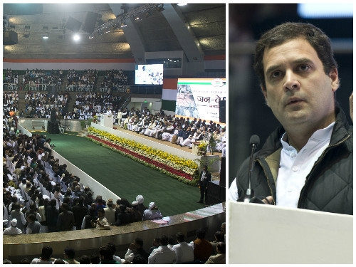 Rahul Gandhi attacks Modi saying the PM being ridiculed world over