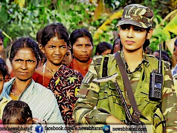 Braveheart Usha Kiran- 1st CRPF Women Officer posted in Bastar region infected by Maoists