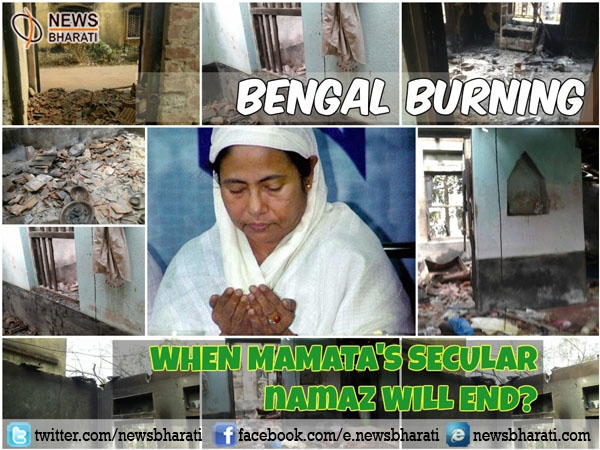 West Bengal in flames: will life be same again in #Dhulagarh ?