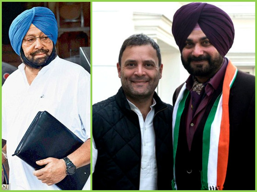 On Siddhu's CM candidature Amarinder points to Congress president