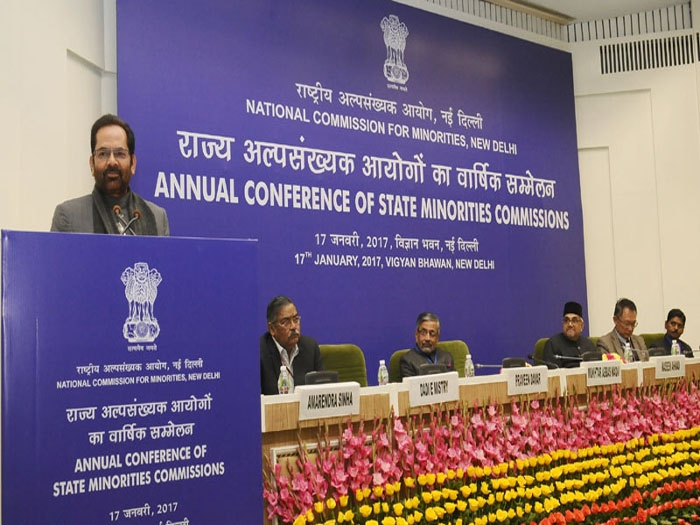 "India's cultural and social harmony is ""password of progress"": Naqvi"
