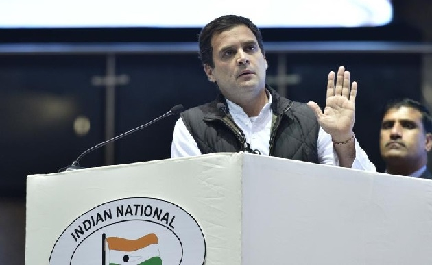 BJP seeks EC's intervention over Rahul Gandhi's handful remarks