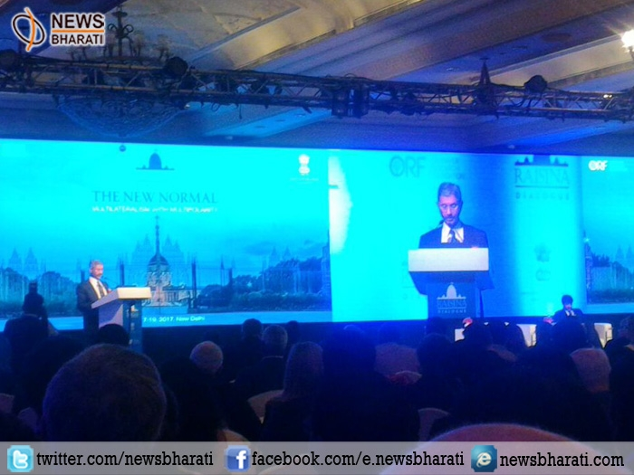 #Raisina2017: Foreign Secy S. Jaishankar takes a dig at Pak and China on terrorism and CPEC project