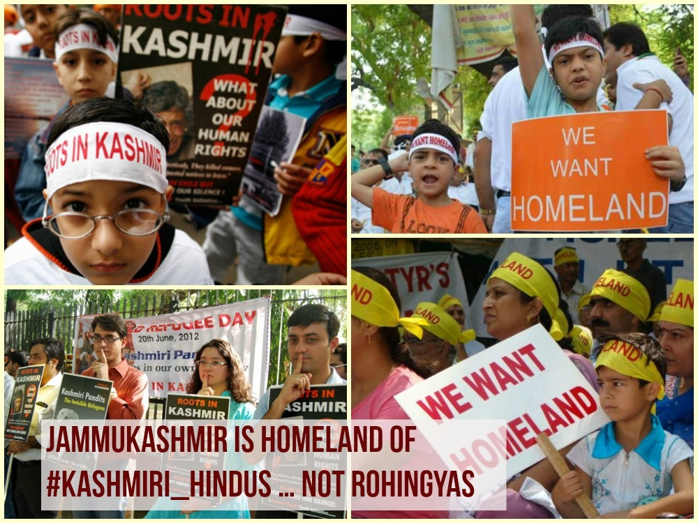 India remembers ethnic cleansing and #ExodusDay of Kashmir Hindus