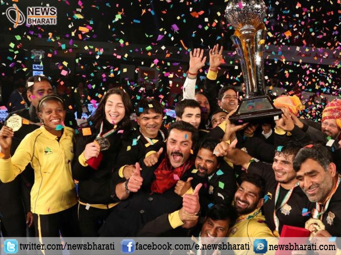 #AsliDangal : Punjab Royals defeated Haryana Hammers to bag #ProWrestlingLeague title