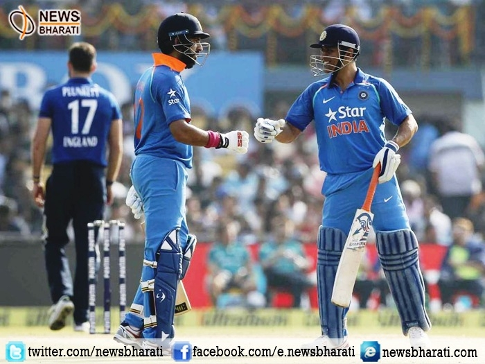 India win series with Yuvraj and Dhoni's century; beat England in 2nd ODI