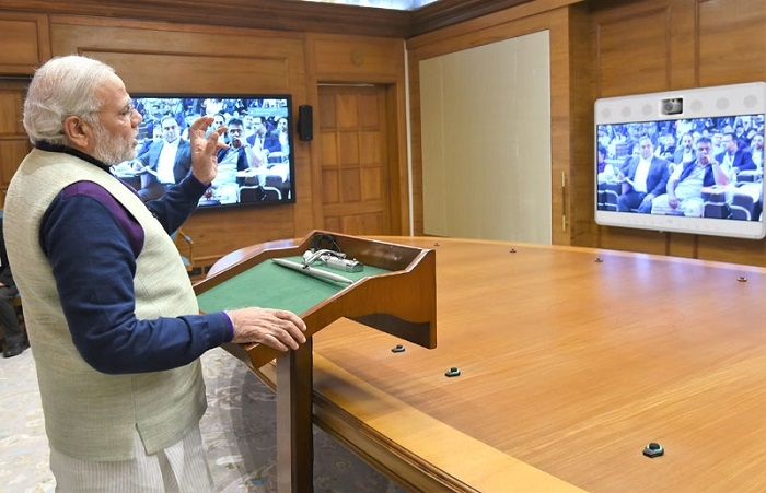 Prime Minister Narendra Modi inaugurates  'Ek Bharat, Shreshtha Bharat' Conference